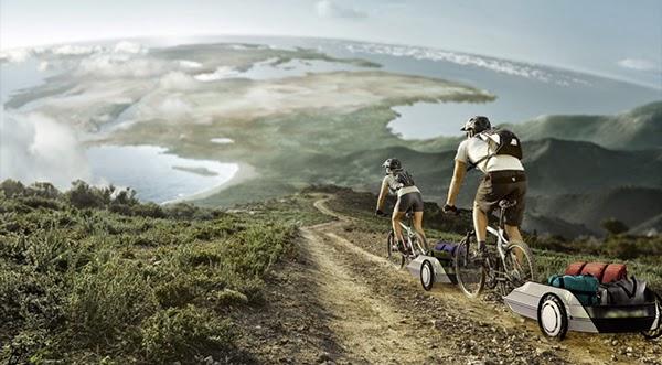 自転車用トレーラーハウス
