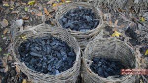 炭を作る方法