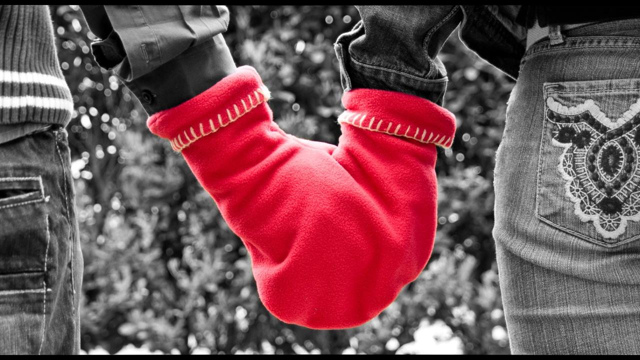 パートナーと一緒に使える手袋GLOVERS