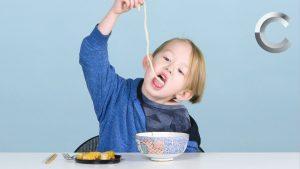 アメリカの子供に日本食を初めて食べさせてみた