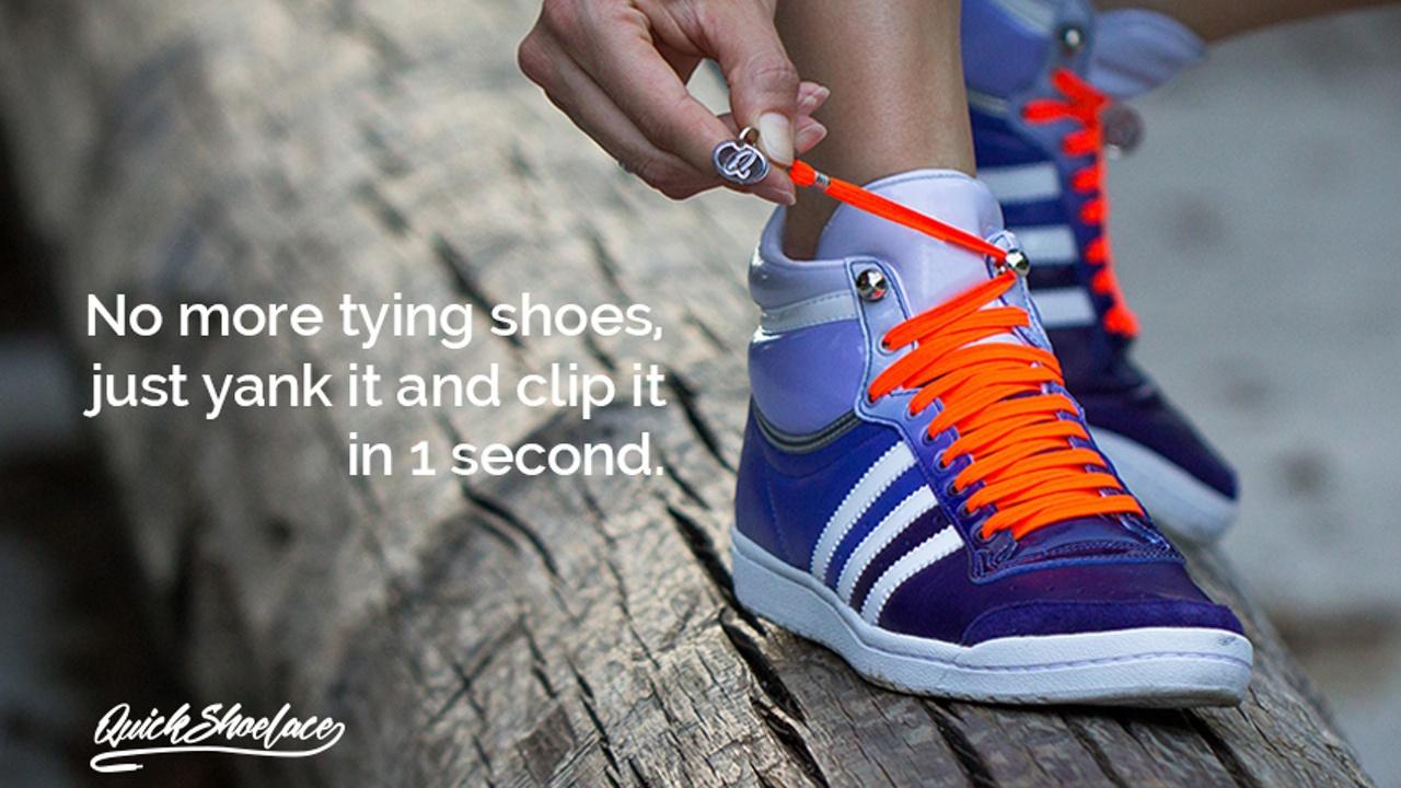 結ぶ必要のない靴紐
