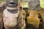 モアイ像を掘ったら超巨大な体がでてきた!!!